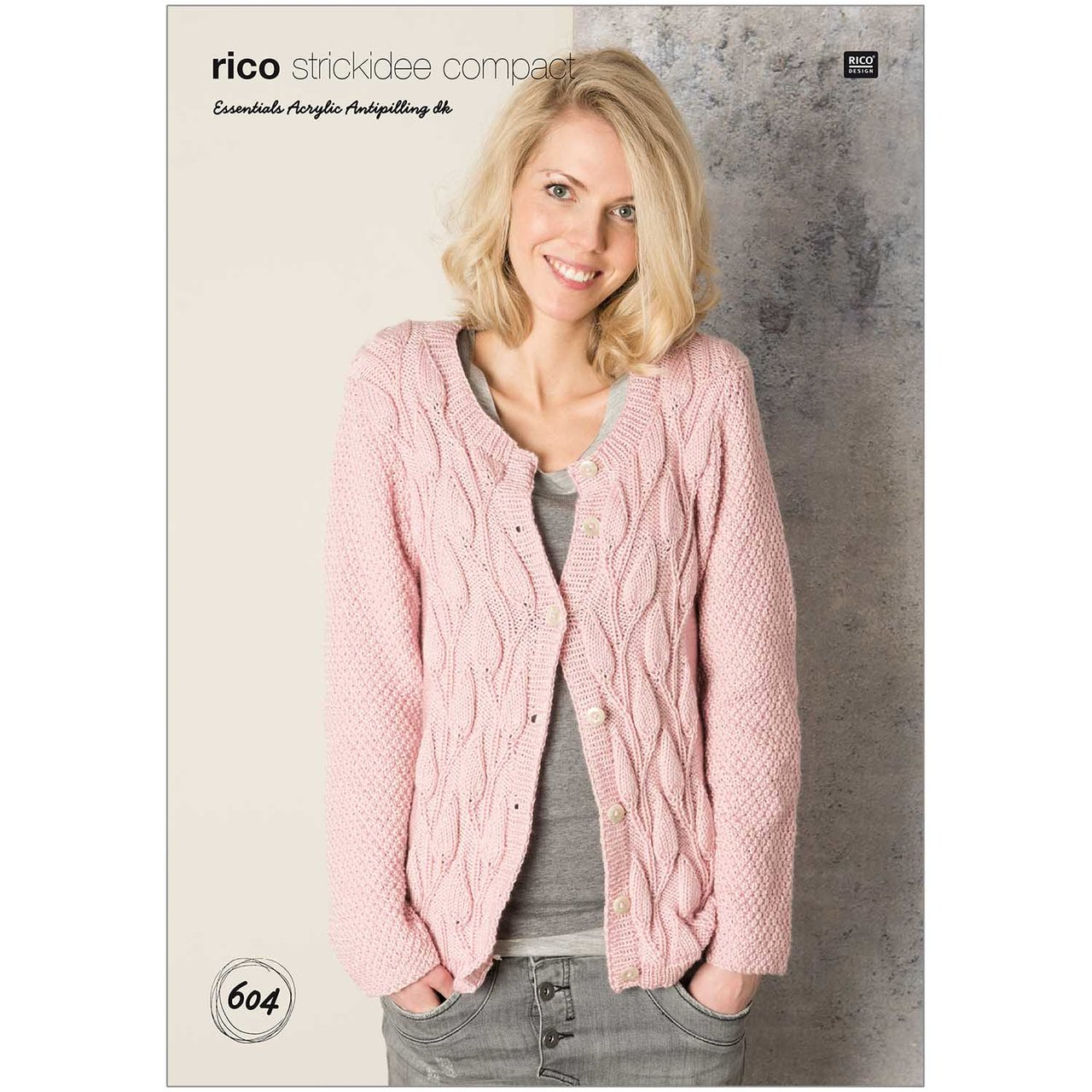 Rico  Strickidee compact Nr.604 Essential Acrylic Antipilling