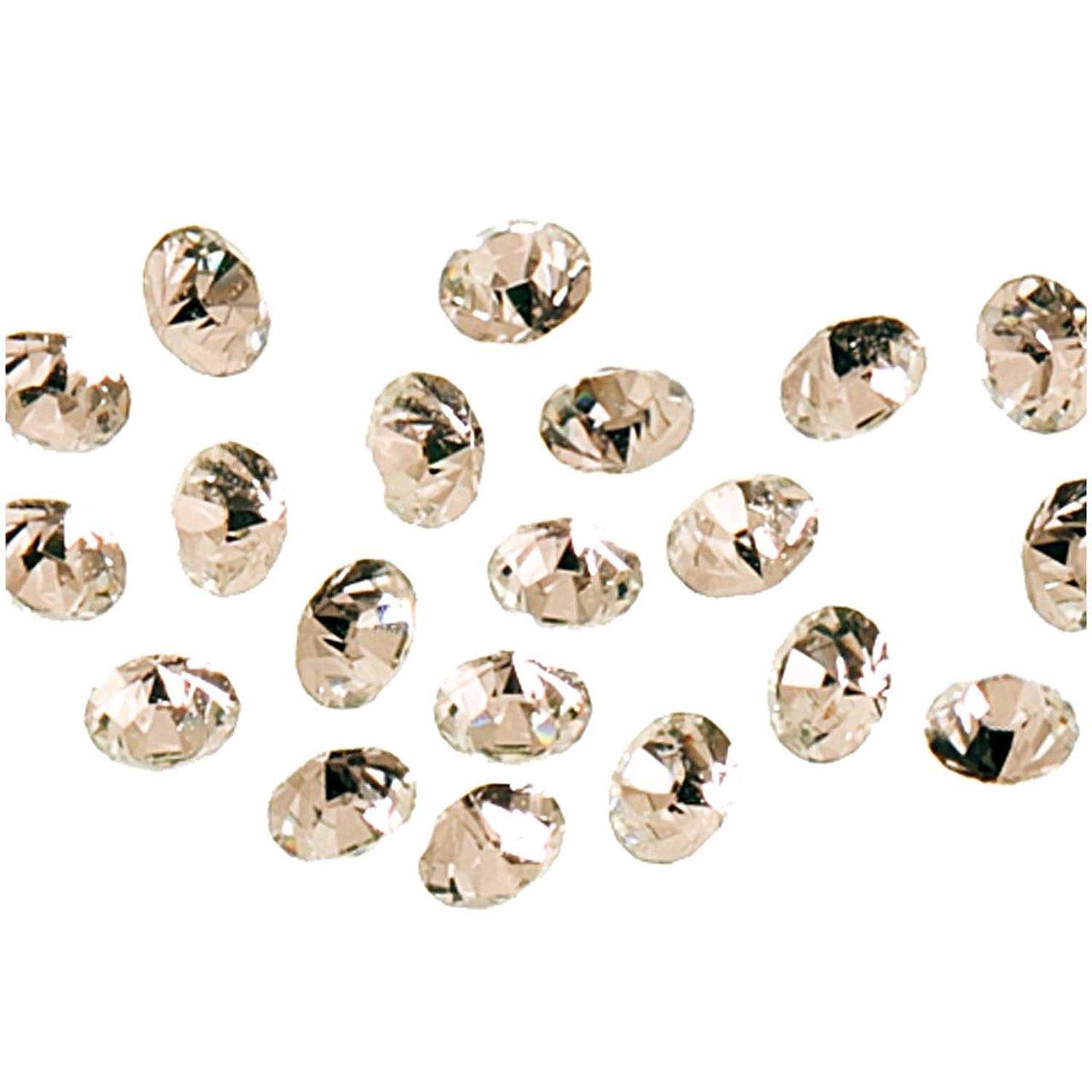 Swarovski® Strass-Steine spitz crystal 1mm 20 S...