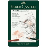 faber castell pitt monochrome zeichenset 33teilig g nstig kaufen. Black Bedroom Furniture Sets. Home Design Ideas