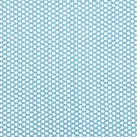 Rico Design Stoff Blümchen hellblau-weiß 50x55cm