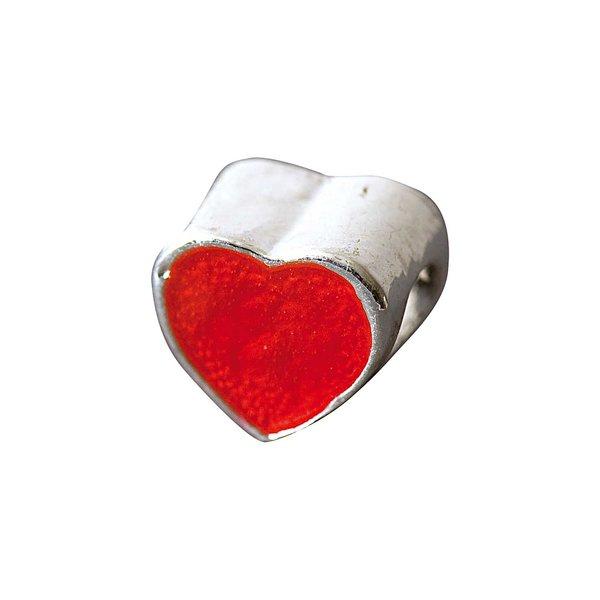 Rico Design Herz rot 1,1x1,1cm