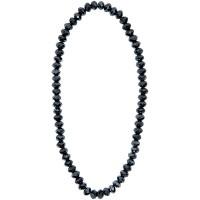 Rico Design Glasschliff-Kette anthrazit 40cm