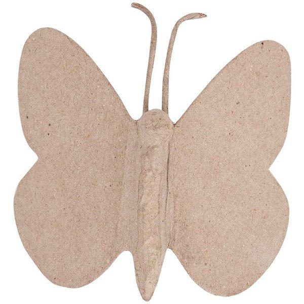 Rico Design Pappmaché Schmetterling 13x12x4cm