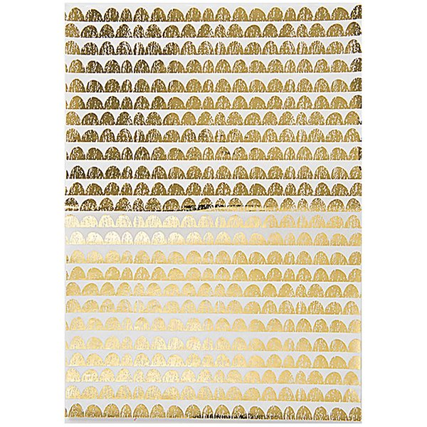 Rico Design Paper Patch Papier gold 30x42cm Hot Foil