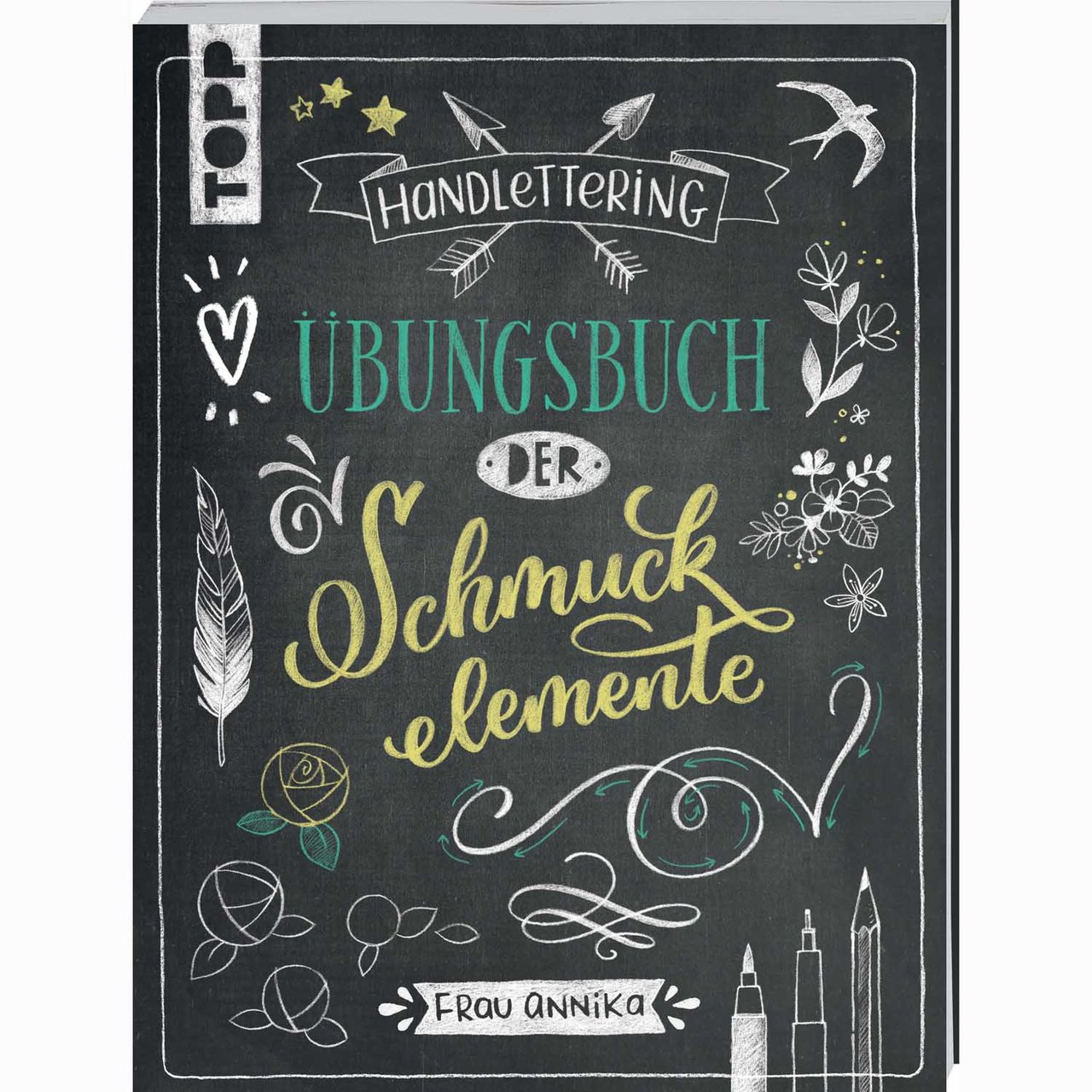 TOPP Handlettering Schmuckelemente Übungsbuch