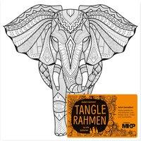 MH&P Tanglerahmen afrikanischer Elefant 20x20cm