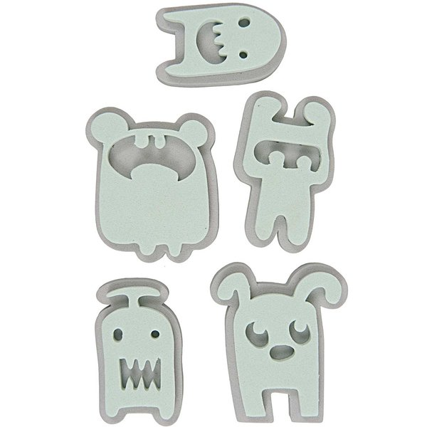 Rico Design Moosgummistempel Set Monster