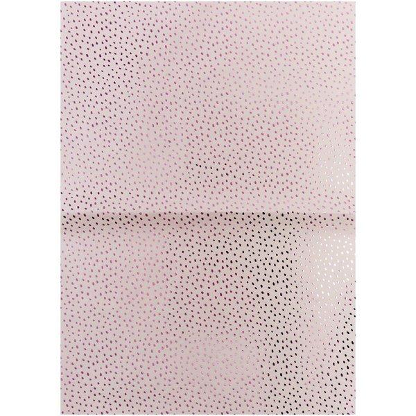 Rico Design Paper Patch Papier Hygge Punkte flieder 30x42cm