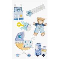 Paper Poetry Maxi 3D Sticker Geburt Junge