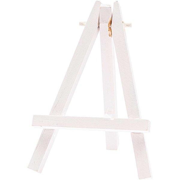Staffelei weiß 11,5cm mini 2 Stück