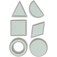 Rico Design Moosgummistempel Set geometrische Figuren