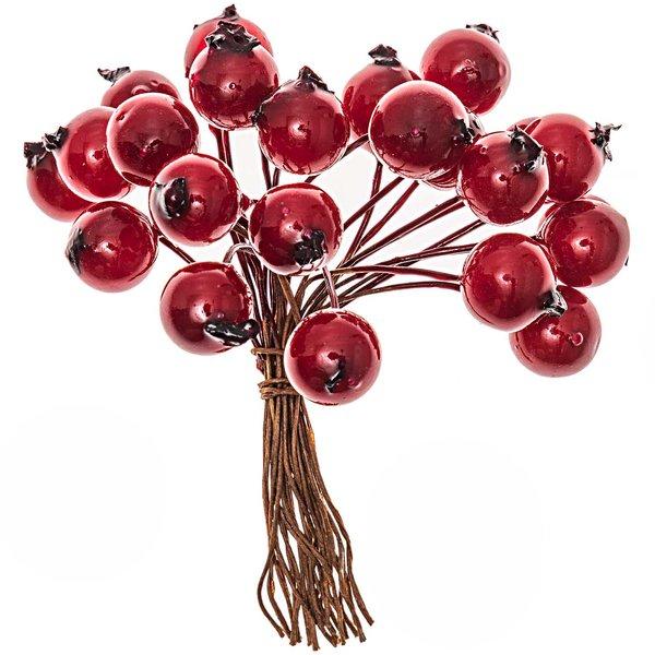 Beerenbund rot 9x1,2cm 24teilig
