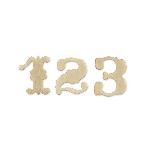 Rico Design Zahl Holz Westernstil 3,3cm