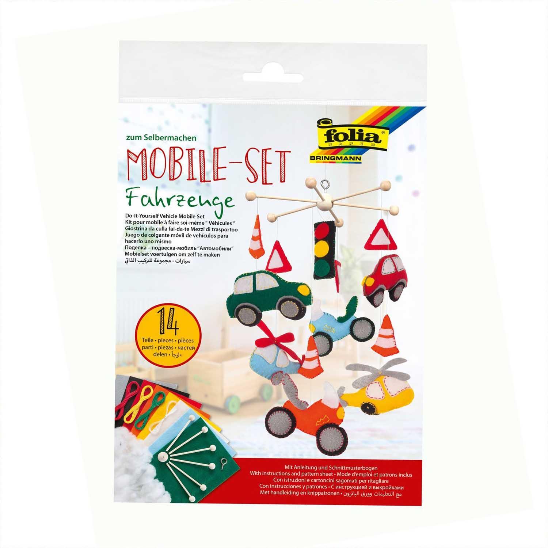 Folia Mobile-Set 'Fahrzeuge'