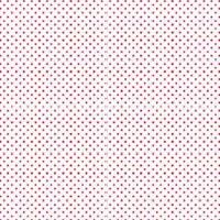 Rico Design Stoff Punkte weiß-rot 50x70cm