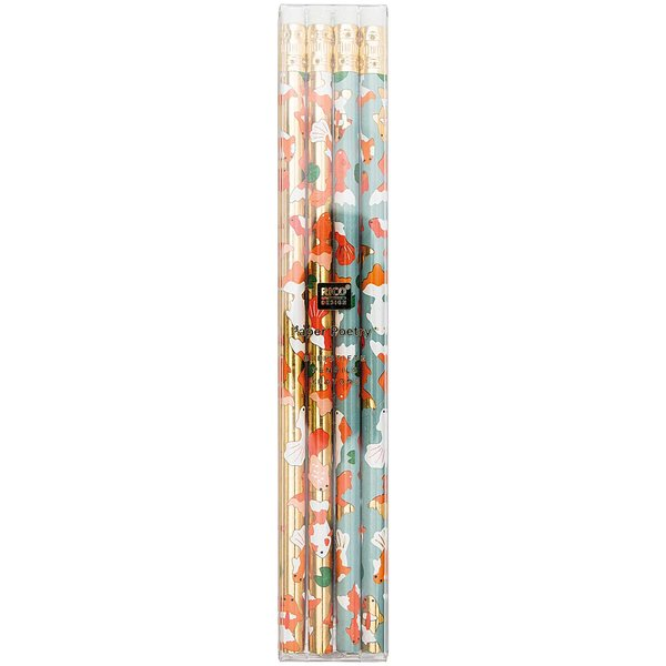 Paper Poetry Bleistifte Jardin Japonais Kois 4er-Set