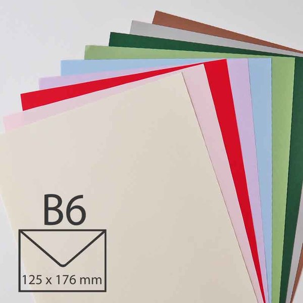 Rico Design 5 Kuverts B6 Serie Essentials