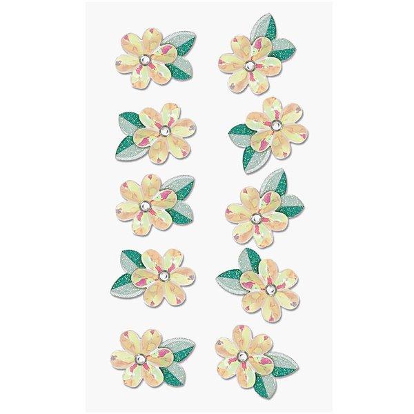 Paper Poetry 3D Sticker Blume
