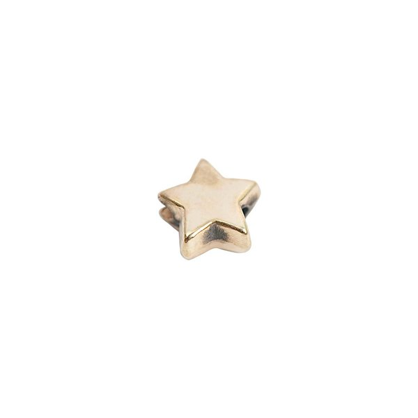 Rico Design Stern gold 5x3mm 30 Stück