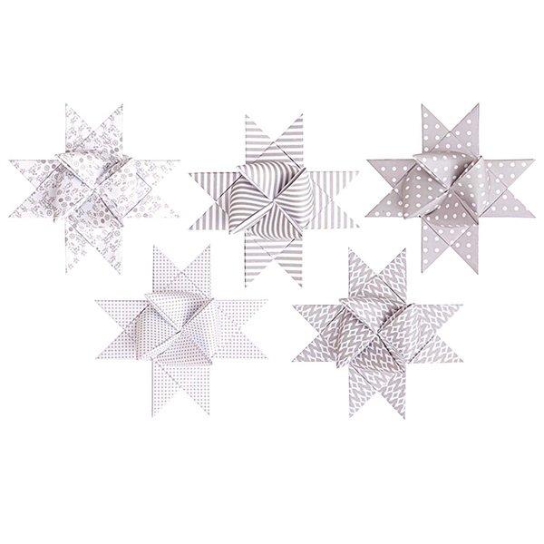 Rico Design Fröbelstreifen XL weiß-kitt 40 Stück