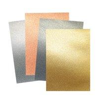 Artoz Glitterpapier selbstklebend A4 230g/m²