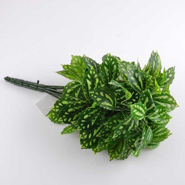 Blätterbusch grün-weiß 40cm