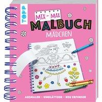 TOPP Mix-Max-Malbuch Maedchen