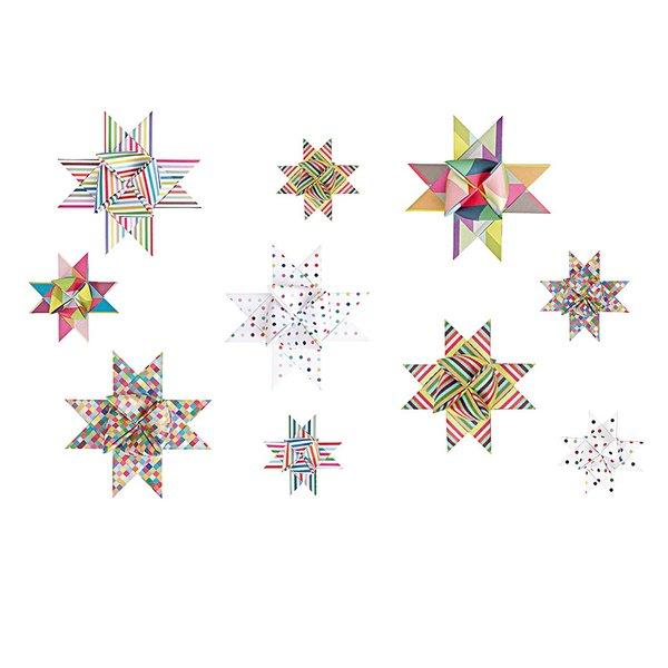 Paper Poetry Fröbelstreifen mehrfarbig mix 60 Stück