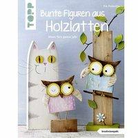 TOPP mehrfarbige Figuren aus Holzlatten - Ideen fürs ganze Jahr