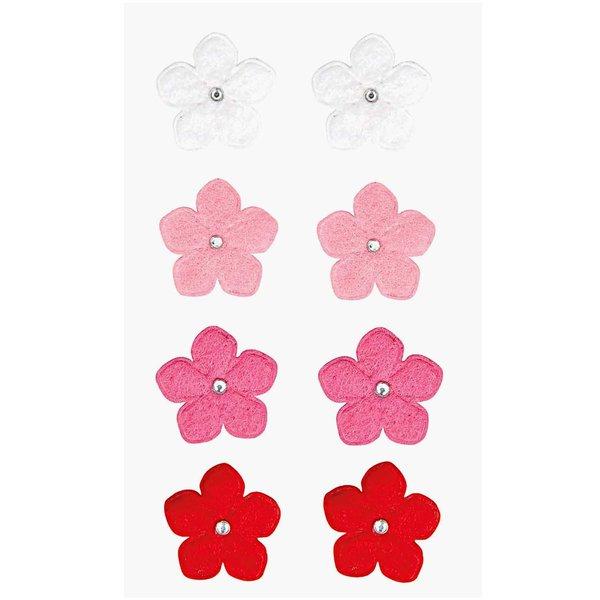Paper Poetry Filzsticker Blumen 2 rosa