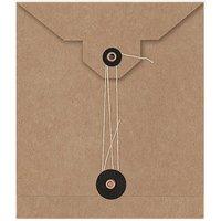 Paper Poetry Umschläge 15x13cm 2 Stück Kraftpapier