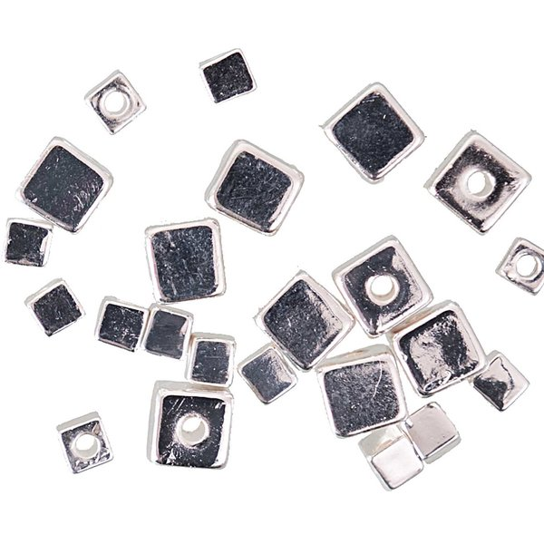 Jewellery Made by Me Würfel silber ca. 20 Stück