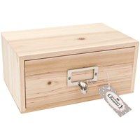 Rico Design Aufbewahrungsbox mit Schubladen 22x14x10cm