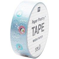 Paper Poetry Tape Pool 1,5cm 10m