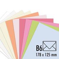 Artoz Kuvert Perga pastell B6 100g/m² 5 Stück
