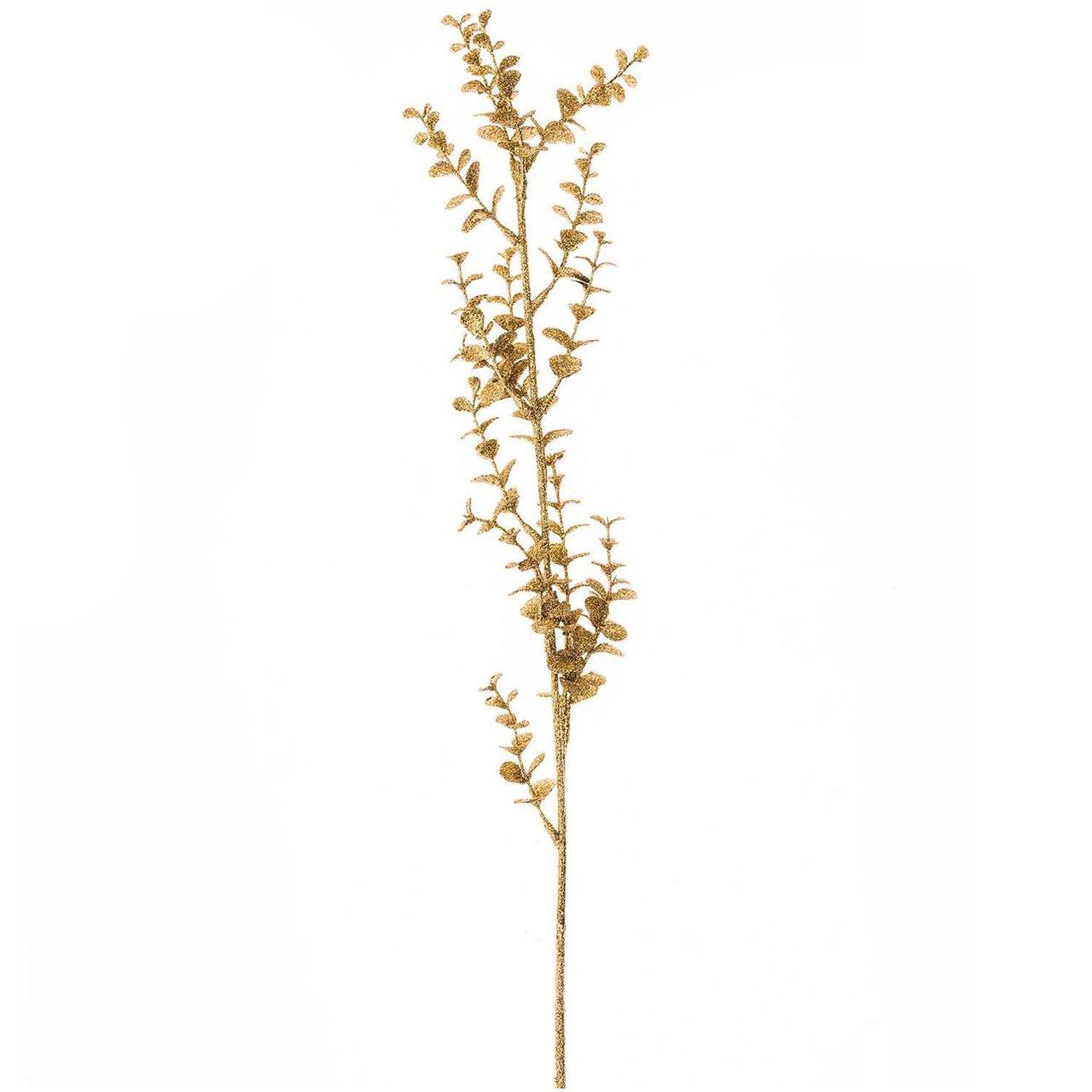 Eukalyptus Zweig gold 65cm