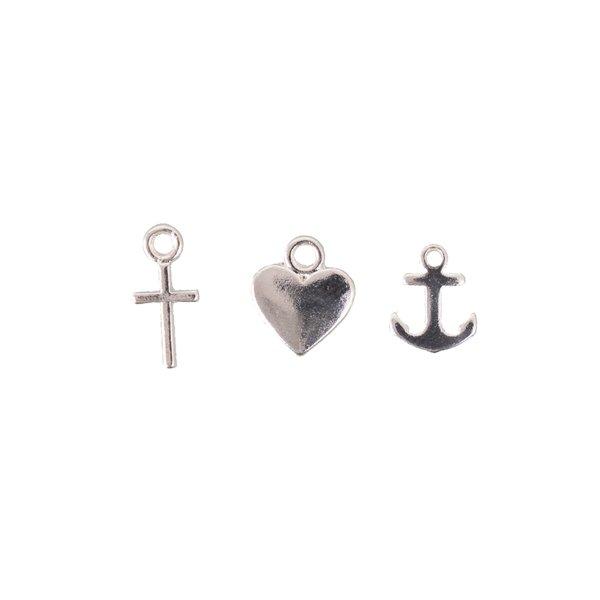 Jewellery Made by Me Anhänger Mix4 3 Stück