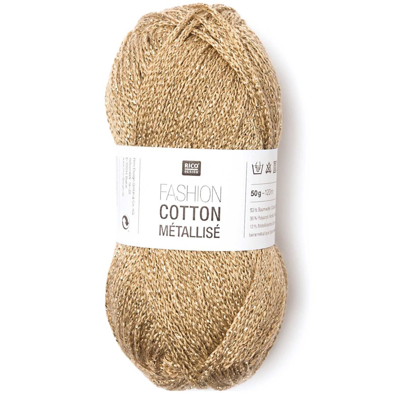 Rico Design Fashion Cotton Métallisé 50g 130m