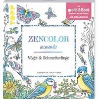 TOPP Zencolor moments: Vögel & Schmetterlinge