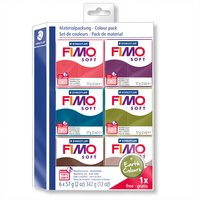 Staedtler FIMO soft Set Earth Colours 6 Blöcke je 57g