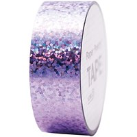 Paper Poetry Holographic Tape Punkte flieder 19mm 10m