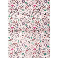 Rico Design Paper Patch Papier Icons rosa 30x42cm Hot Foil
