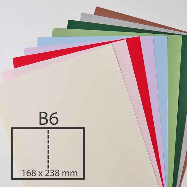 Rico Design Klappkarte Essentials B6 5 Stück