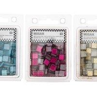 Rico Design Soft-Glas Mosaiksteine Glitter 185g