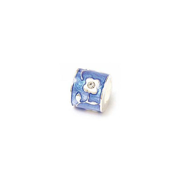 Rico Design Blumenrondell dunkelblau 7x9mm