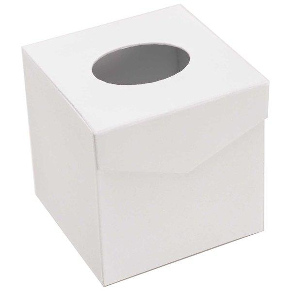 Rico Design Kosmetiktuchbox quadratisch 12,3x12,3x12,3cm
