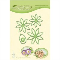 Decohobby Stanz- und Prägeschablone Easy Blume 001