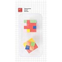 Rico Design Radiergummis 3D-Würfel 2 Stück