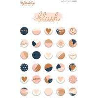 MyMindsEye Blush - PuffyStickers