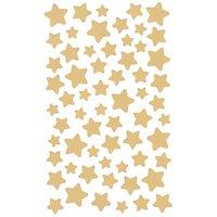 Paper Poetry Sticker Sterne gold 4 Bogen
